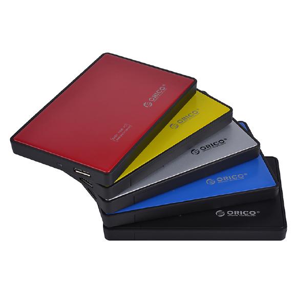Hộp đựng ổ cứng Orico 2588US3 2.5Inch USB3.0 (Màu Cam)
