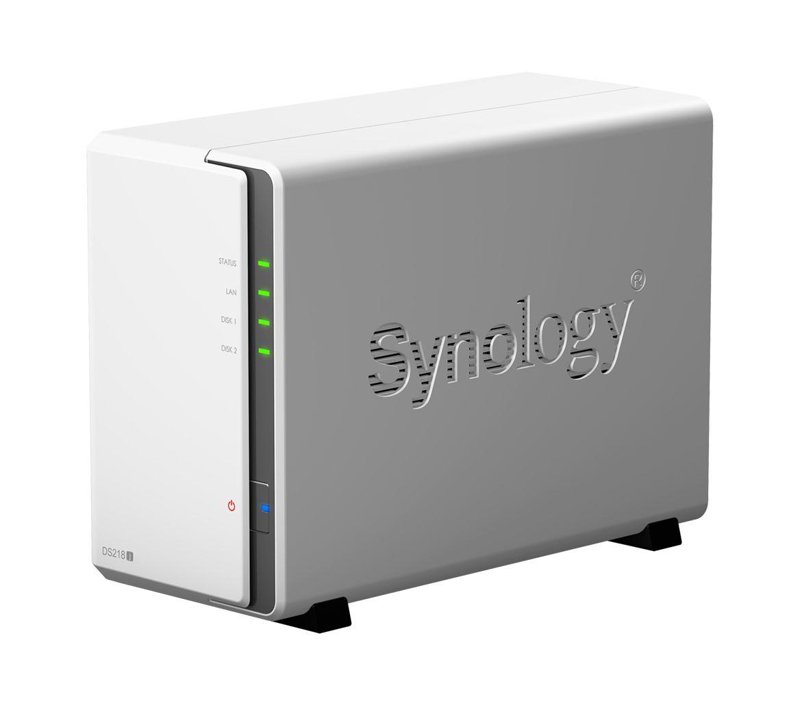 Ổ lưu trữ mạng Synology DS218J (chưa có ổ cứng)