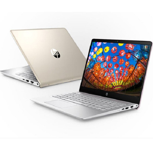 Laptop HP Pavilion 14-ce0024TU 4ME97PA (Gold)