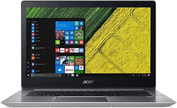 Laptop Acer Swift 3 SF314-54-869S NX.GXZSV.003 (Silver)- Thiết kế đẹp, mỏng nhẹ hơn, cao cấp.