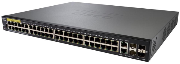 Thiết bị chia mạng Cisco SF350-48-K9-EU Managed Switch
