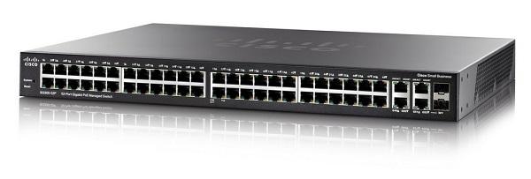 Thiết bị chia mạng Cisco SG350-52-K9-EU Managed Switch