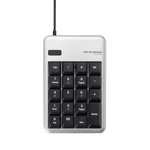 Bàn phím số Elecom TK-TCM011SV (USB, Có dây)