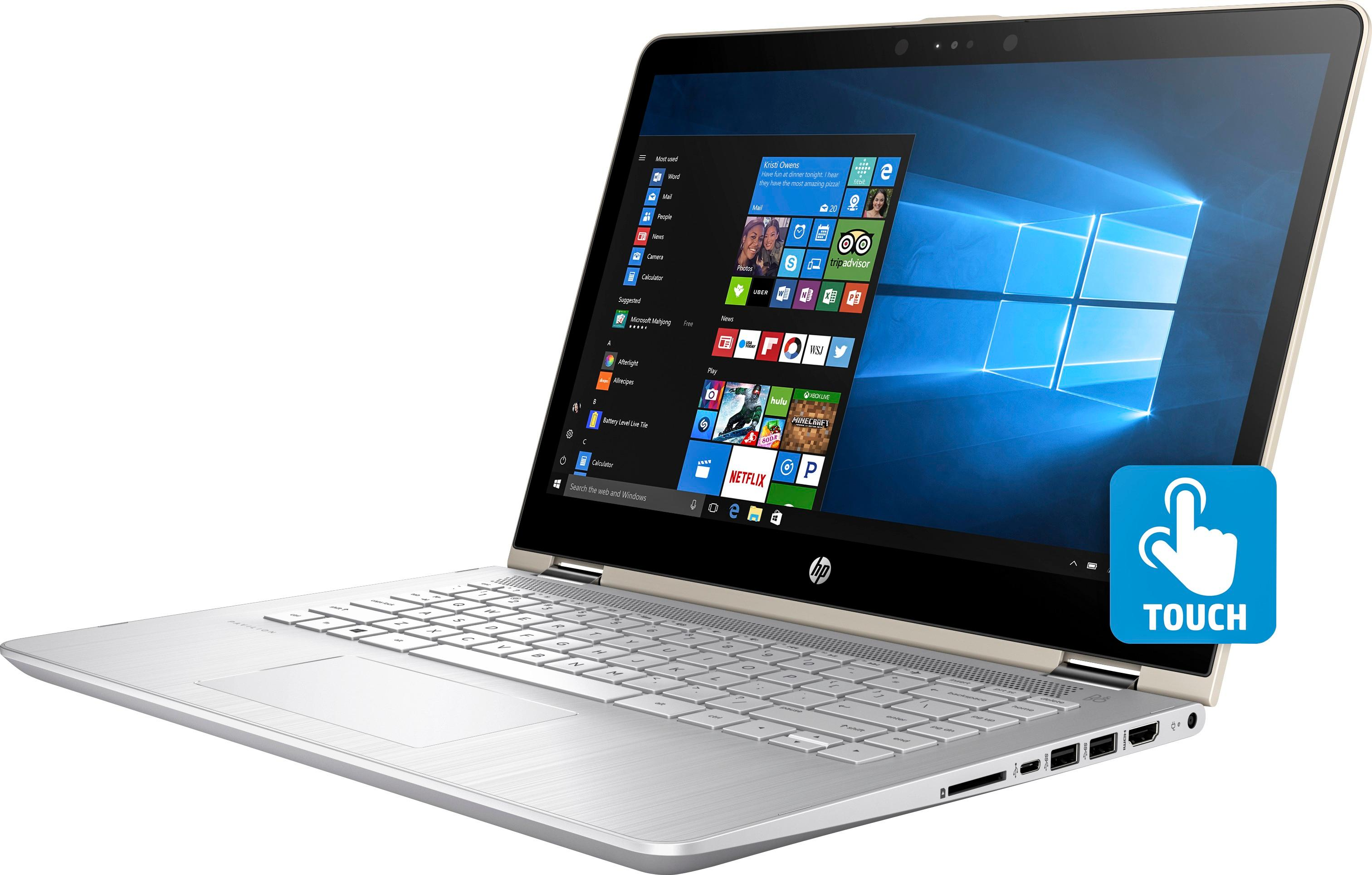 Laptop HP Pavilion x360 11-ad104TU 4MF13PA (Silver) + Pen