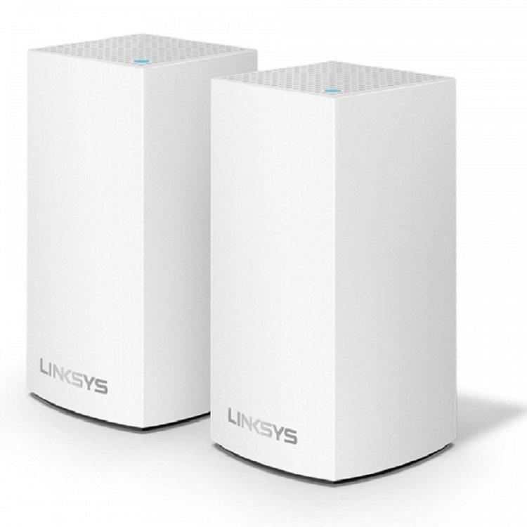 Bộ thu phát Linksys Velop WHW0102 Dual-Band 2 Pack AC2600Mbps