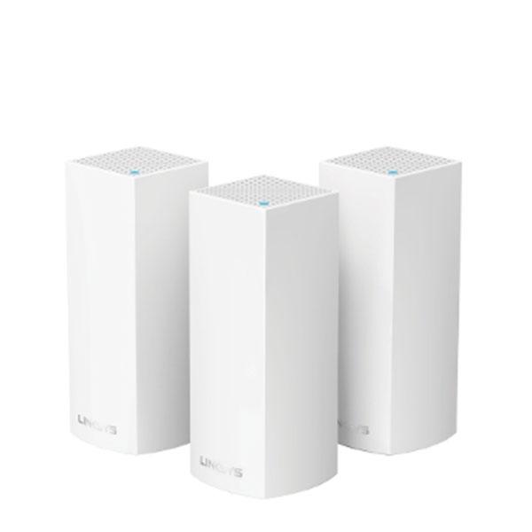 Bộ thu phát Linksys Velop WHW0303 Tri-Band 3 Pack AC6600Mbps
