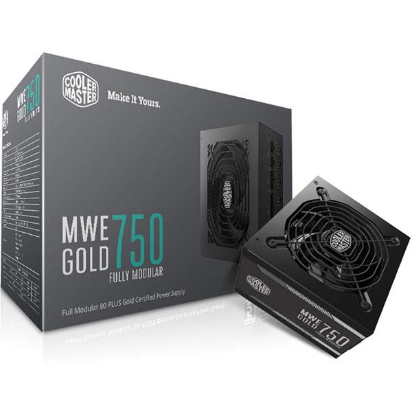Nguồn Cooler Master MWE 750W -80 Plus Gold