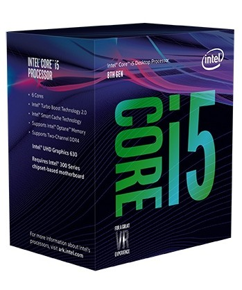 CPU Intel Core i5 8600 (Up to 4.30Ghz/ 9Mb cache) Coffee Lake