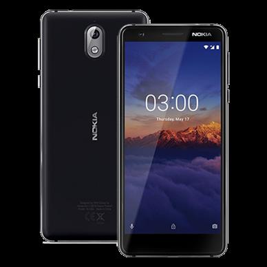 Nokia 3.1  (Black)- 5.2Inch/ 16Gb/ 2 sim