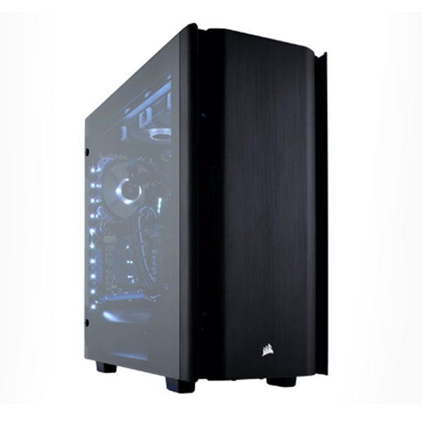 Vỏ máy tính Corsair 500D Aluminum Tempered Glass Mid Tower