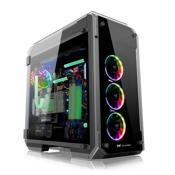 Vỏ máy tính Thermaltake View 71 Tempered Glass RGB Edition Full Tower