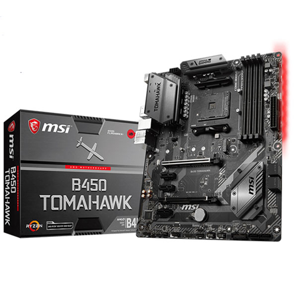 Main MSI B450 TOMAHAWK (Chipset AMD B450/ Socket AM4/ VGA onboard)