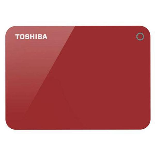 Ổ cứng di động Toshiba Canvio Advance 2Tb USB3.0 Đỏ