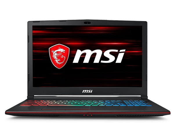Laptop MSI GP63 Leopard 8RE 411VN (Black)- Coffeelake