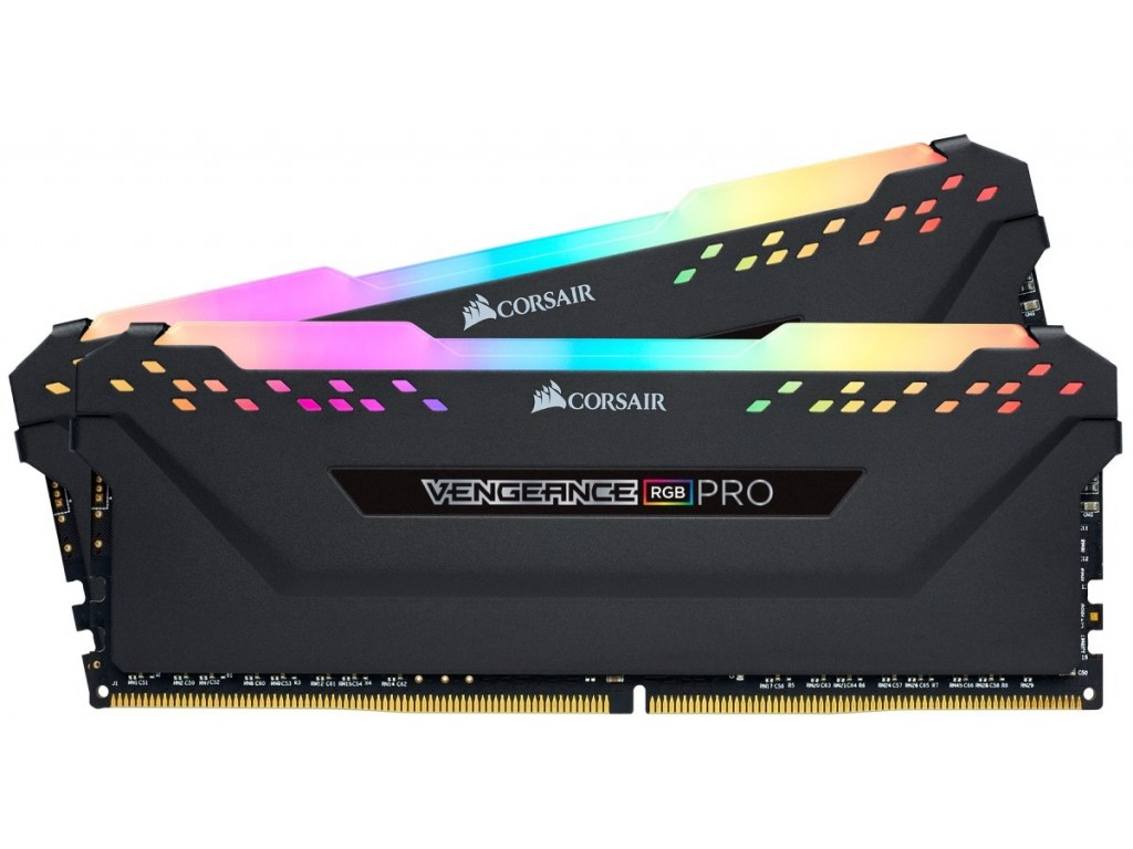 RAM Corsair Vengeance Pro RGB 16Gb (2x8Gb) DDR4-2666-CMW16GX4M2A2666C16
