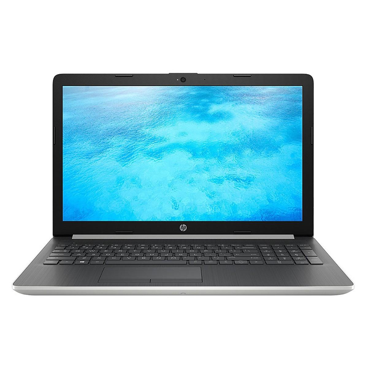 Laptop HP 15-da0051TU 4ME64PA (i3-7020U/4Gb/500Gb HDD/15.6/VGA ON/DVDSM/Win10/Silver)