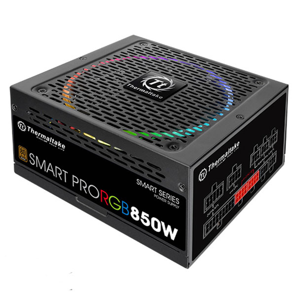 Nguồn Thermaltake Smart Pro RGB 650W  -80 Plus Bronze