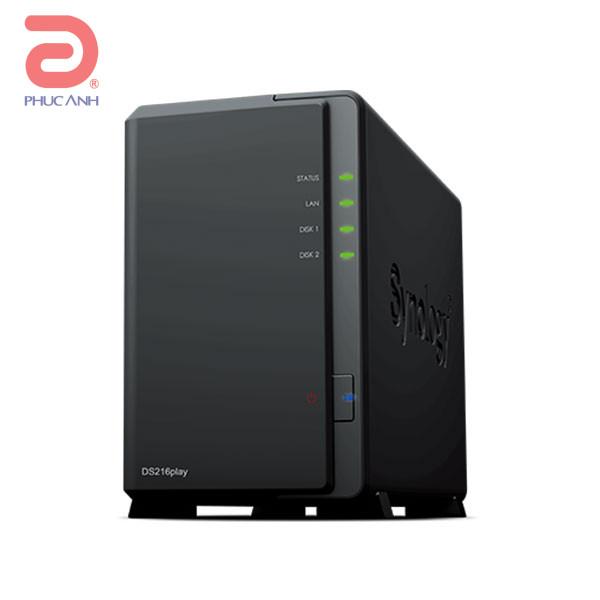 Ổ lưu trữ mạng Synology DS216play (chưa có ổ cứng)