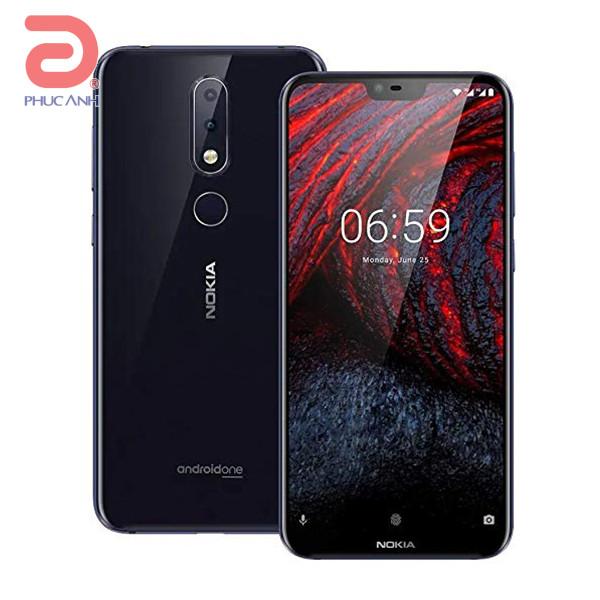 Nokia 6.1 Plus (Black Blue)- 5.8Inch/ 64Gb/ 2 sim
