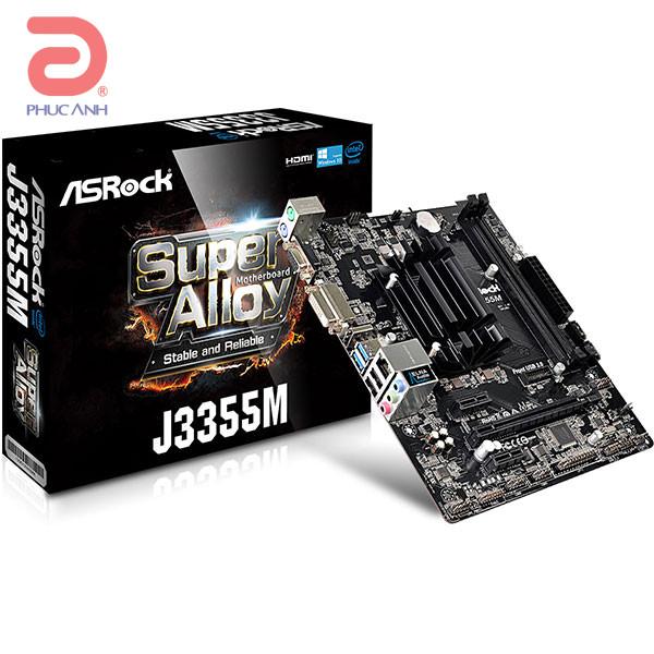 Main Asrock J3355M -Tích hợp sẵn CPU (Chipset J3355M/ Socket FCBGA1296/ VGA onboard)