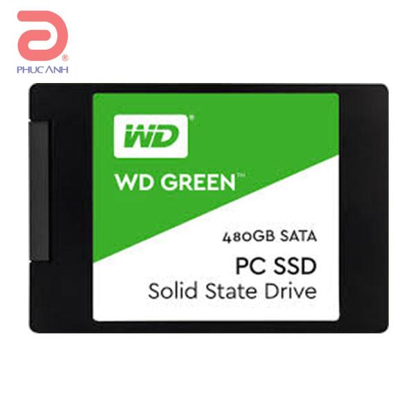 Ổ SSD Western Green 480Gb SATA3 (đọc: 545MB/s)