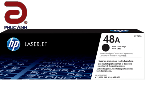 Mực hộp may in laser HP CF248A - Dùng cho máy in HP Pro M15A, M15W, M28A, M28W, M16, M29