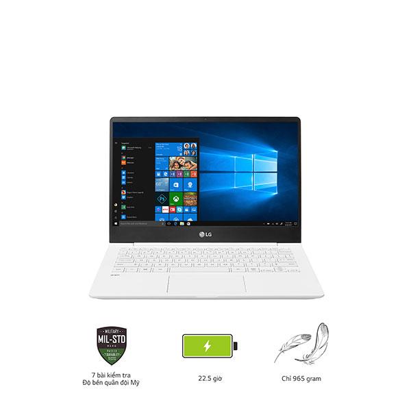 Laptop LG Gram 13ZD980-G.AX52A5 (i5-8250U/8GB/256Gb SSD/13.3FHD/VGA ON/ Dos/ White)