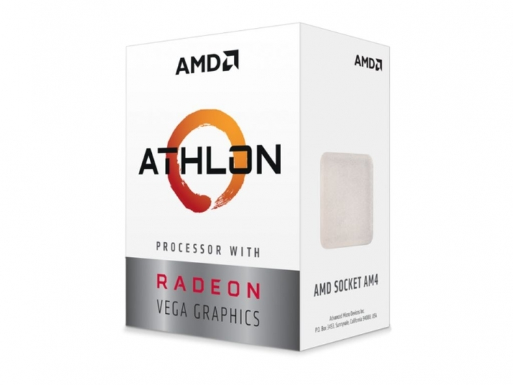 CPU AMD Ryzen Athlon 200GE (3.2Ghz/ 5Mb cache)