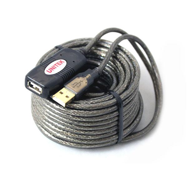 Cáp USB nối dài Unitek U-265 15M (có IC khuyếch đại)