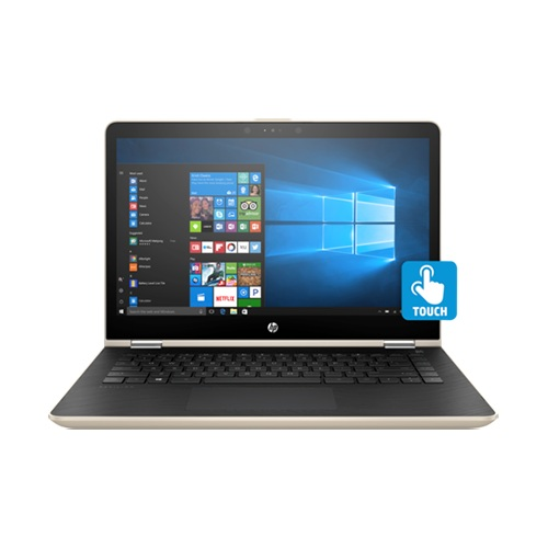 Laptop HP Pavilion x360 14-ba082TU 3MR83PA (Gold)