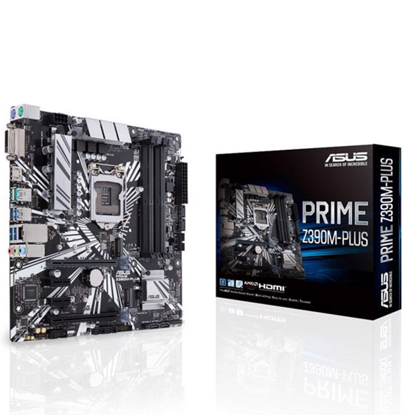 Main Asus Z390M-PLUS (Chipset Intel Z390/ Socket LGA1151/ VGA onboard)