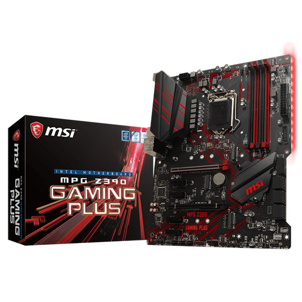 Main MSI MPG Z390 GAMING PLUS (Chipset Intel Z390/ Socket LGA1151/ VGA onboard)