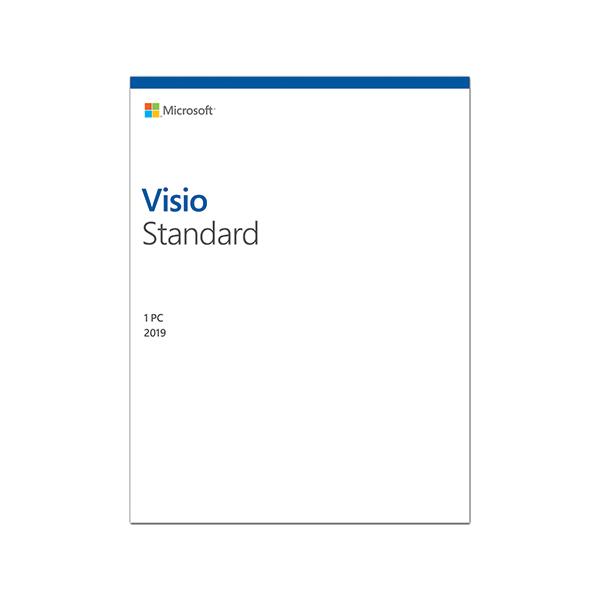 PM Microsoft Visio Standard 2019 Online (D86-05822) - Key điện tử