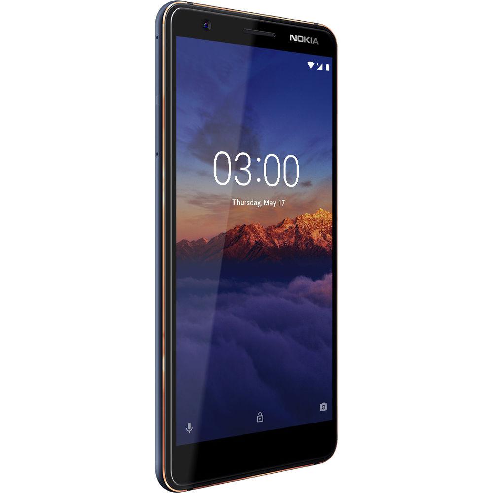 Nokia 3.1  (Blue)- 5.2Inch/ 16Gb/ 2 sim