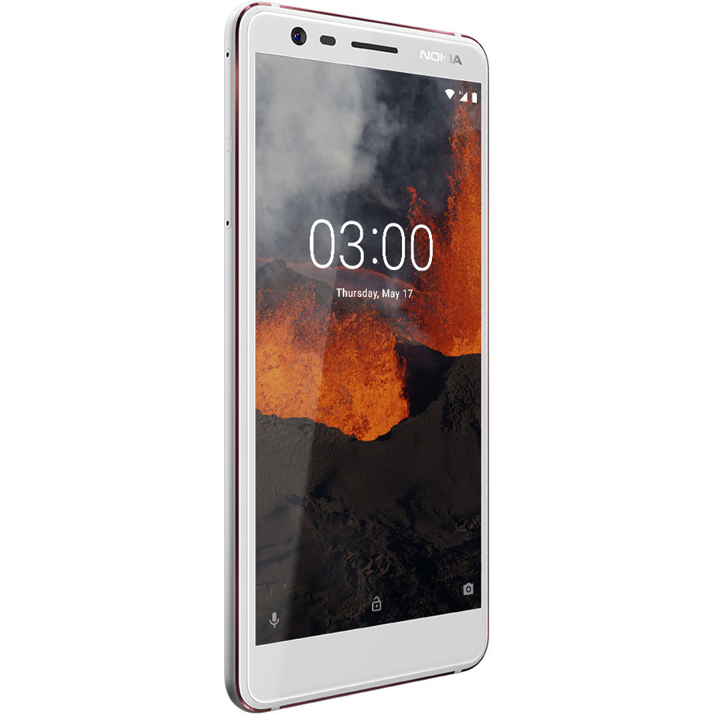 Nokia 3.1  (White)- 5.2Inch/ 16Gb/ 2 sim