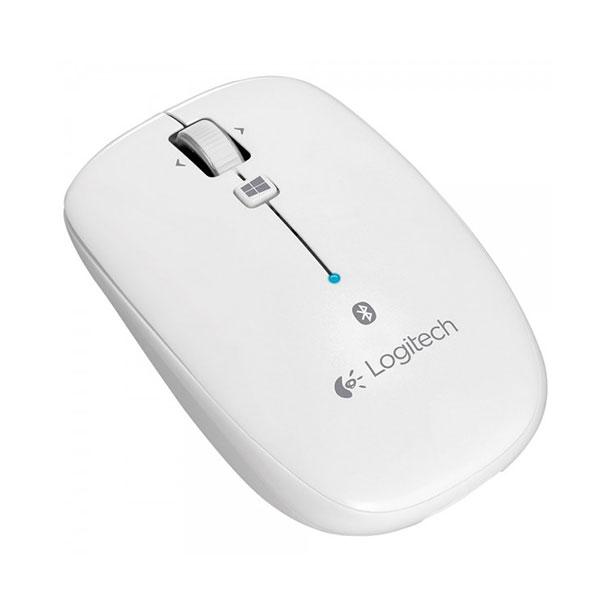 Chuột không dây Logitech Bluetooth M557 (Màu trắng)