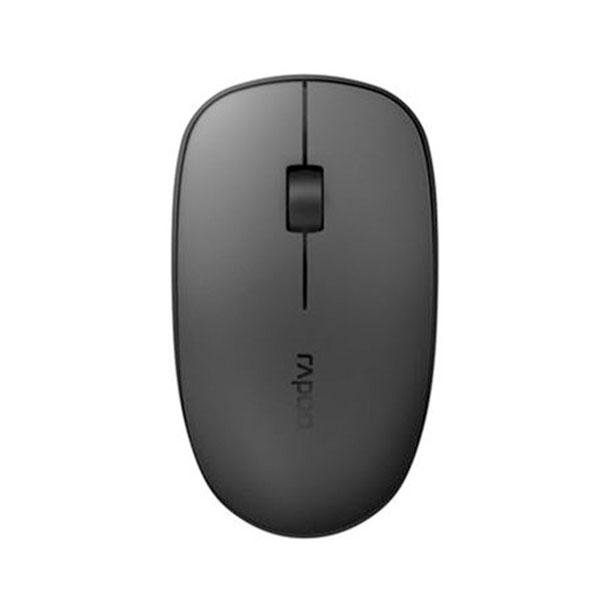 Chuột không dây Rapoo M200 silent (Màu đen xám)
