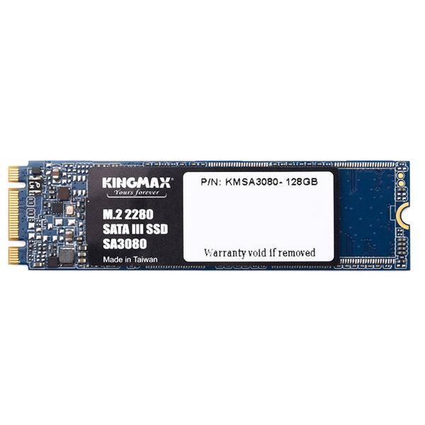 Ổ SSD Kingmax SA3080 128Gb M2 (đọc: 550MB/s /ghi: 350MB/s)