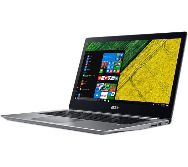 Laptop Acer Switch 3S SF314-55G-59YQ NX.H3USV.002 (Silver)- Thiết kế đẹp, mỏng nhẹ hơn, cao cấp