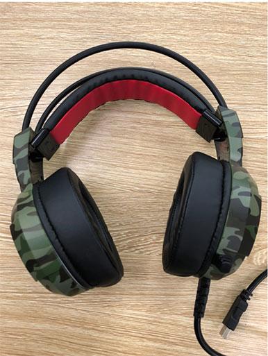 Tai nghe Xiberia X6U 7.1 Gaming (Quân đội)