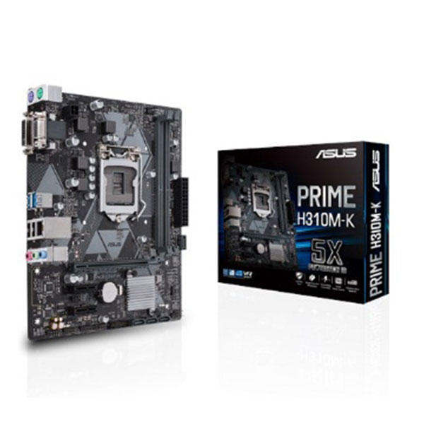 Main Asus H310M-K (Tray) (Chipset Intel H310/ Socket LGA1151/ VGA onboard)
