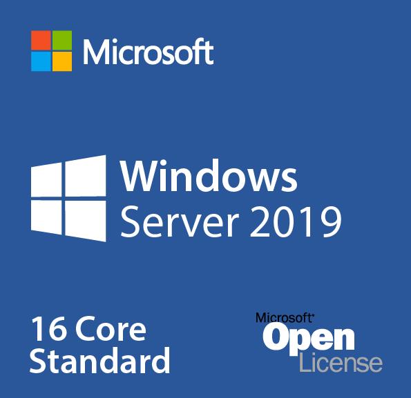 PM hệ điều hành Microsoft Windows Server Standard 2019OLP 16Lic 9EM-00652