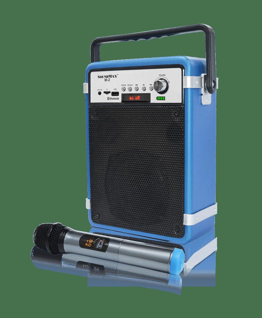 Loa Soundmax M2 (loa kéo trợ giảng, du lịch dã ngoại, hát karaoke)