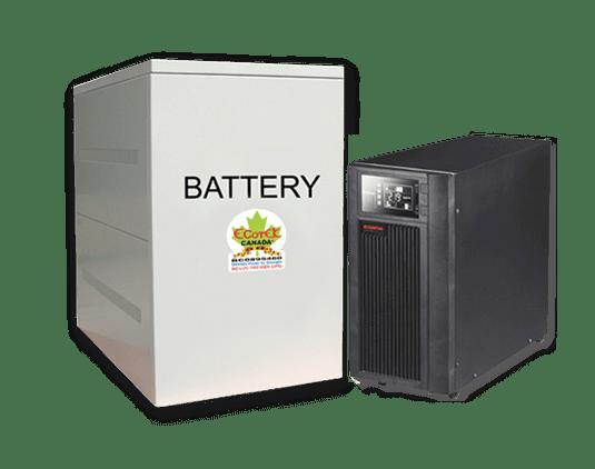 Bộ lưu điện Online Santak C6KS LCD (6 KVA / 5,4 KW)