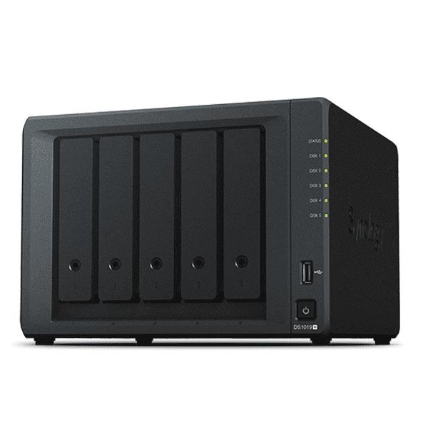 Ổ lưu trữ mạng Synology DS1019+ (8Gb) (chưa có ổ cứng)