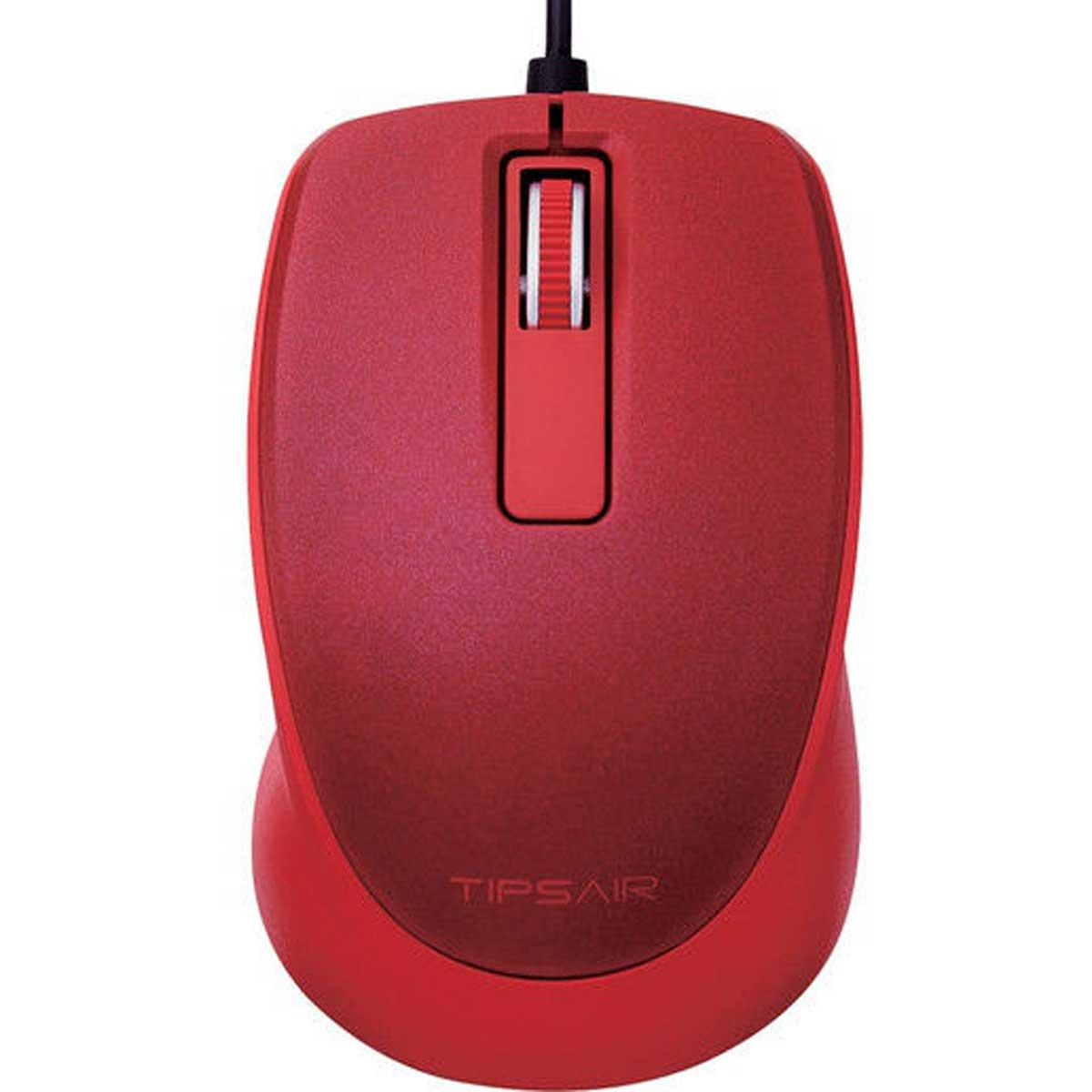 Chuột có dây Elecom M-TP10UBSRD (Màu đỏ)