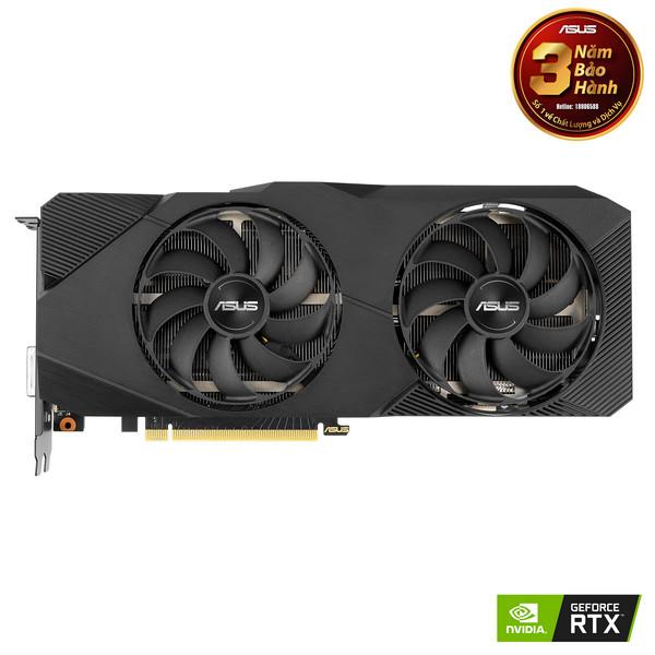 VGA Asus DUAL-RTX2060S-8G-EVO (NVIDIA Geforce/ 8Gb/ GDDR6/ 256Bit)