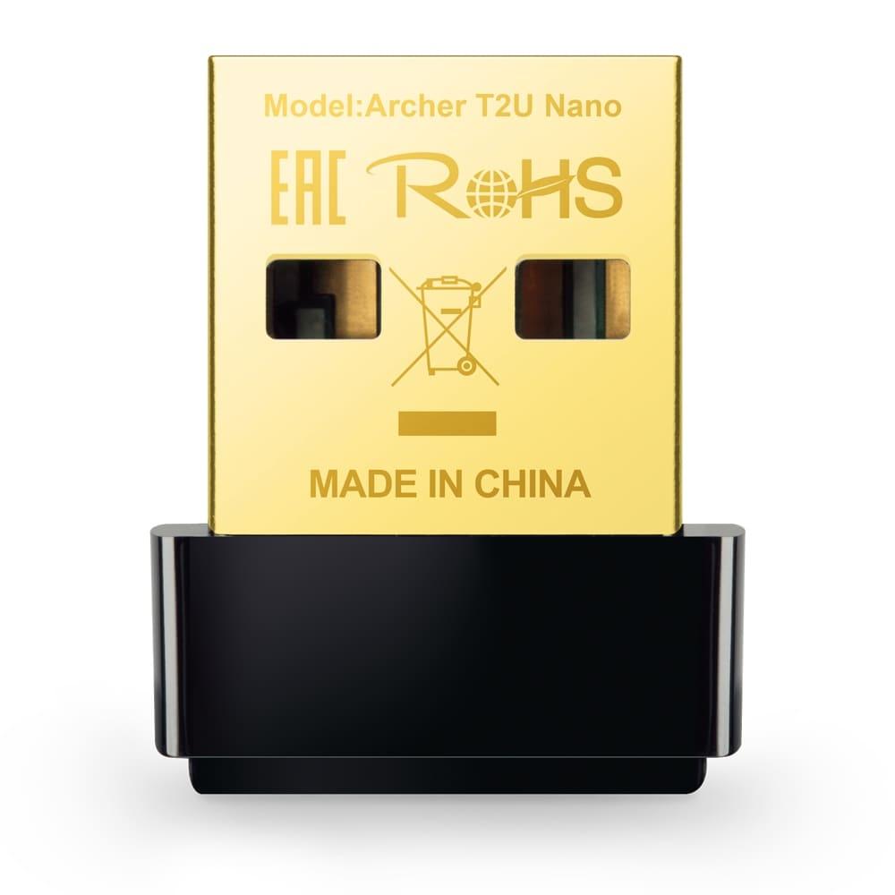 Cạc mạng không dây TP-Link Archer T2U Nano AC600Mbps