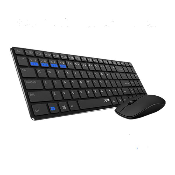 Bộ bàn phím chuột không dây Rapoo 9300M