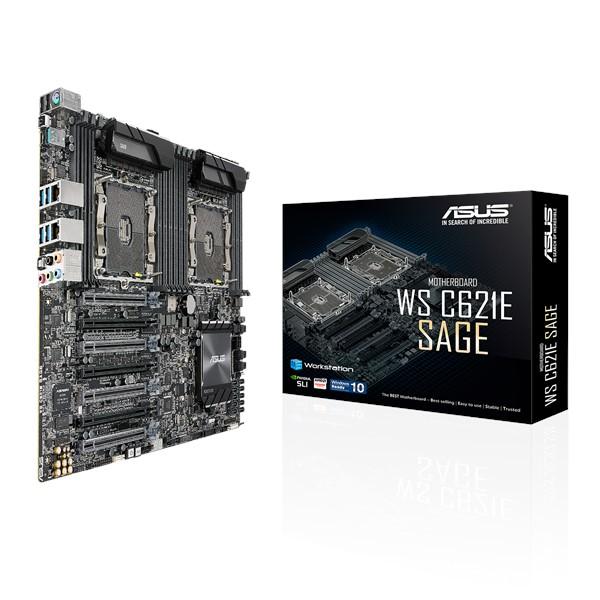 Main Asus WS C621E SAGE (Chipset Intel C621/ Socket LGA3647/ None VGA)